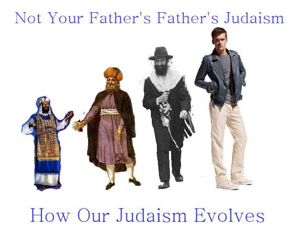 Evolution of Judaism